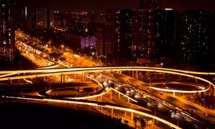 三环路立交桥亮化工程